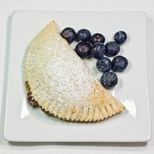 munchie blueberry flip pie