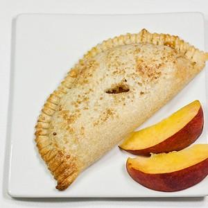 munchie peach flip pie